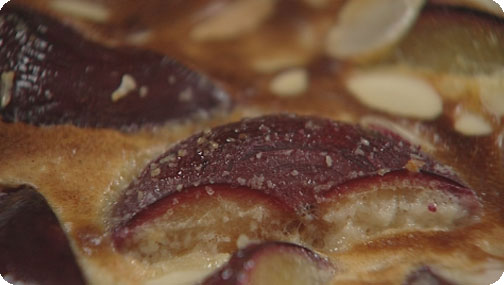 Gizzi Erskine's Plum and Almond Clafoutis