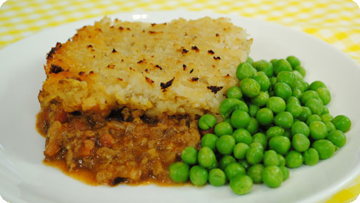 Recipes for shepherds pie